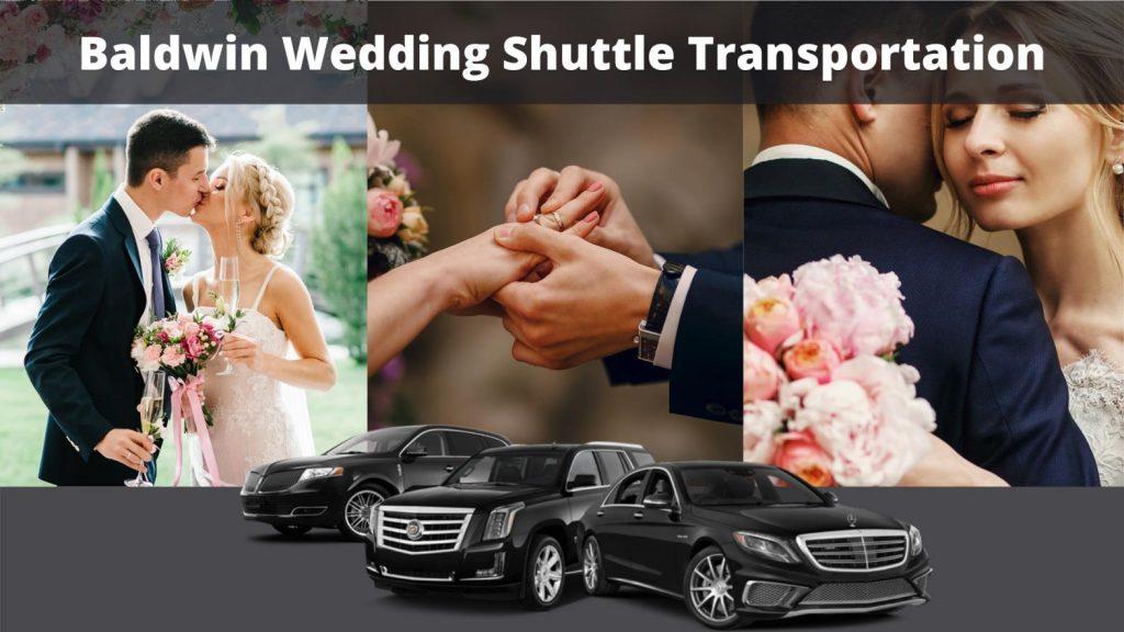 Baldwin Wedding Shuttle Transportation